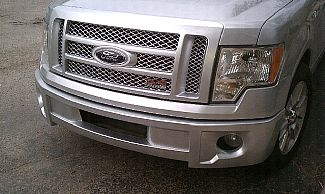 Ford F150 09 13 Bumper Cover With Factory Round Lights Urethane Streetsceneeq Com
