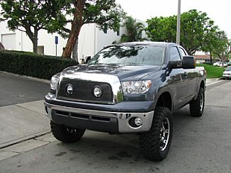 Toyota Tundra 07 09 Custom Grille Shell With Lights Black